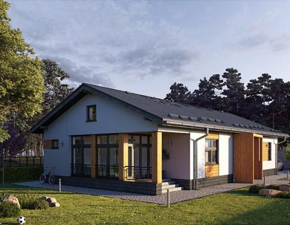 Бюджетный жилой дом