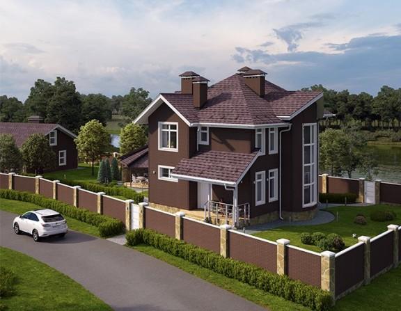 Жилой дом и хозблок