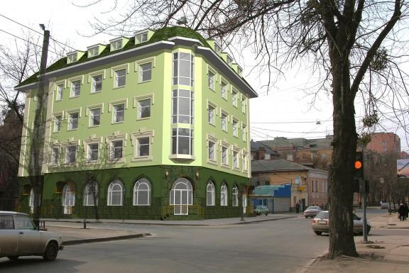Офисное здание с отделением банка и инфраструктурой культурно – бытового обслуживания