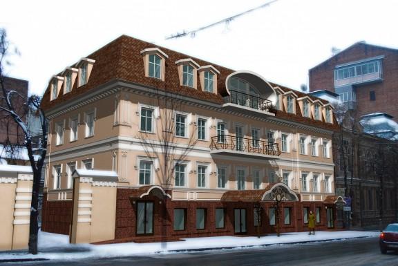 Реконструкция нежилого здания под размещение гостиницы