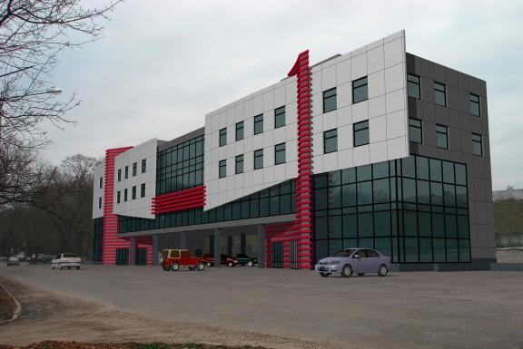 Торгово – офисный центр